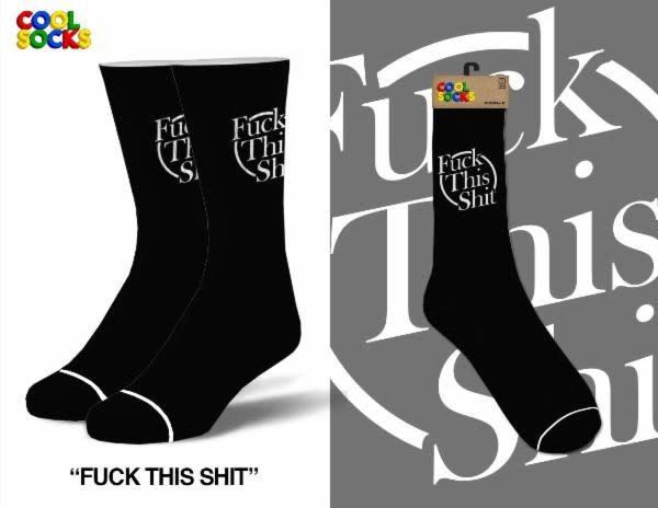 Cool Socks Cool Fuck This Shit Mens Socks