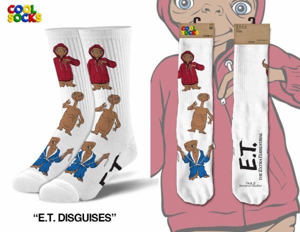 Cool Socks Cool Socks E.T. Disguises Men Socks