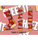 Cool Socks Cool Socks Keep It Cheezy Men Socks