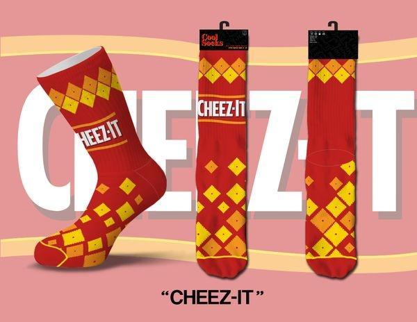 Cool Socks Cool Cheez It Mens Socks