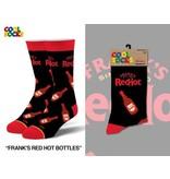 Cool Socks Cool Franks Red Hot Bottles Mens Socks