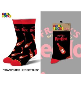 Cool Socks Cool Franks Red Hot Bottles Mens Socks