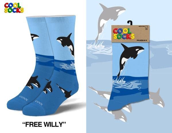 Cool Socks Cool Free Willy Mens Socks