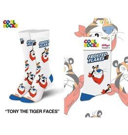 Cool Socks Cool Tony Faces Womens Socks