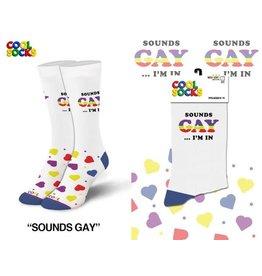 Cool Socks Cool Sounds Gay, I'm In! Womens Socks