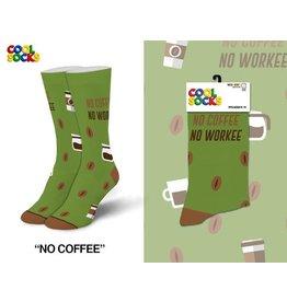 Cool Socks Cool No Coffee No Workee Womens Socks