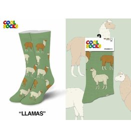 Cool Socks Cool Llamas Womens Socks