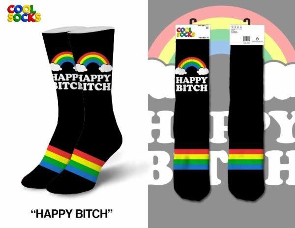 Cool Socks Cool Socks Happy Bitch Women Socks