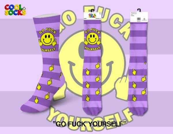 Cool Socks Cool Socks Go Fuck Yourself Women