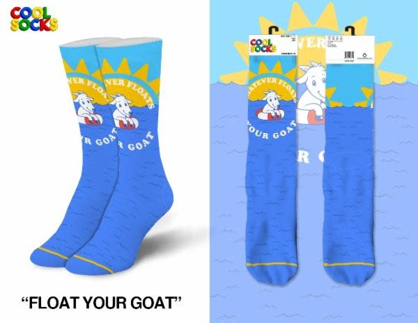Cool Floats Your Goat Womens Socks