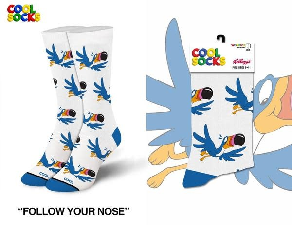 Cool Socks Cool Follow Your Nose MED