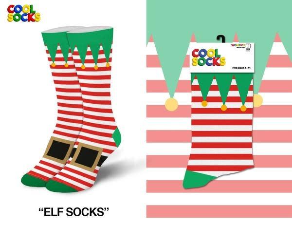 Cool Socks Cool Elf Socks Womens Socks