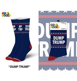 Cool Socks Cool Dump Trump MED