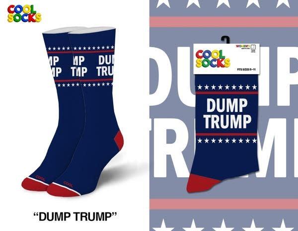 Cool Socks Cool Dump Trump Womens Socks