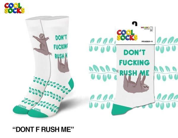 Cool Socks Cool Don't Rush Me Womens Socks
