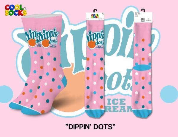 Cool Socks Cool Dippin' Dots Womens Socks