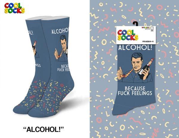 Cool Socks Cool Alcohol Womens Socks