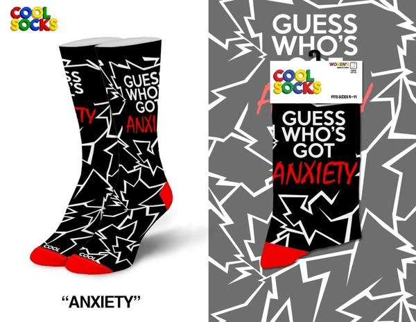 Cool Anxiety Socks MED