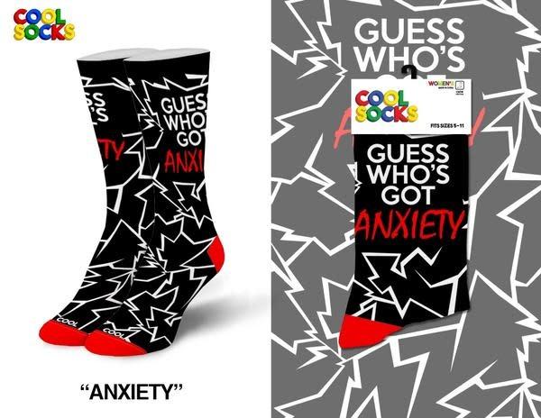 Cool Anxiety Womens Socks