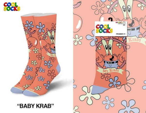 Cool Socks Cool Baby Krab Womens Socks