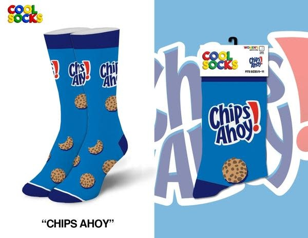 Cool Socks Cool Chips Ahoy Cookies Womens Socks
