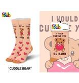 Cool Socks Cool Cuddle Bear Womens Socks