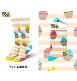 Cool Socks Cool Cupcakes Med