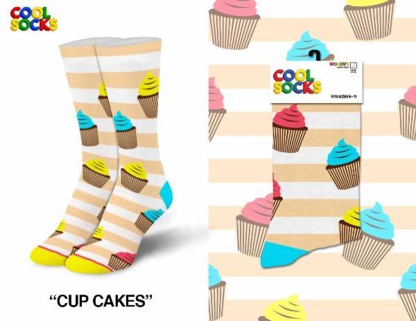 Cool Socks Cool Cupcakes Womens Socks