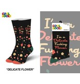 Cool Socks Cool Delicate Flower Womens Socks