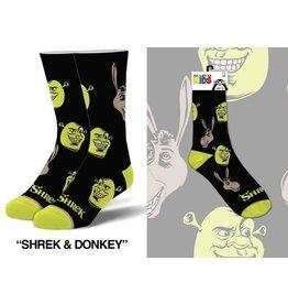 Cool Socks Cool Shrek Kids 7-10 Socks