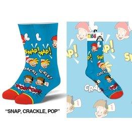 Cool Socks Cool Snap, Crackle, Pop Kids 7-10 Socks