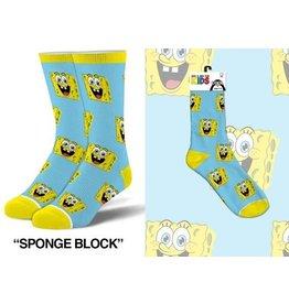 Cool Socks Cool Socks Spongebob All Over Kids 7-10 Socks