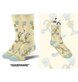 Cool Socks Cool Squidward Kids 7-10 Socks