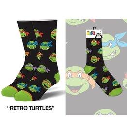 Cool Socks Cool TMNT Kids 4-7 Socks
