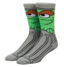 Sesame Street Oscar the Grouch 360 Socks