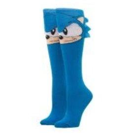 Sonic the Hedge Hog With Felt Attachment Knee High Socks