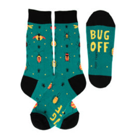 Foot Traffic Mens Bug Off Socks