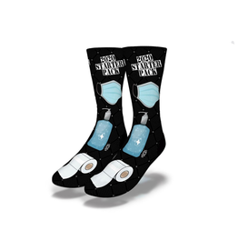 Savvy Covid 19 Starter Pack Kit Socks Women