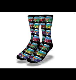 Savvy Hippy Van Stack Socks Men