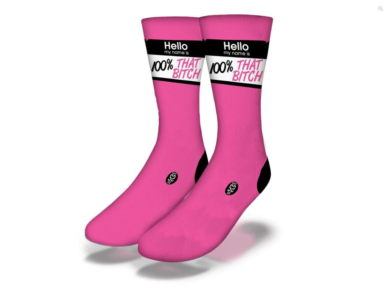 Savvy 100% That Bitch Socks Women