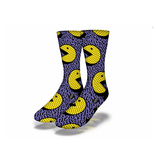 Savvy 90's Pac Man Socks Men