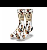 Savvy Cognac Bottles Socks Men