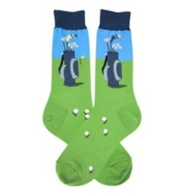 Foot Traffic Mens Golfbag Socks