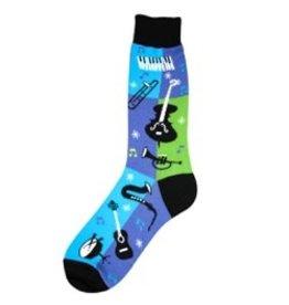 Foot Traffic Mens Jazz Socks