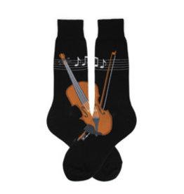 Foot Traffic Mens Musical Strings Socks