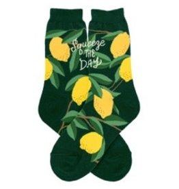 Foot Traffic Womens Lemons Socks