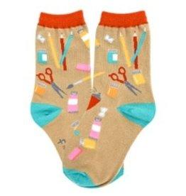 Foot Traffic Kids Artist Socks