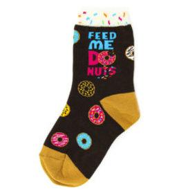 Foot Traffic Kids Donuts Socks