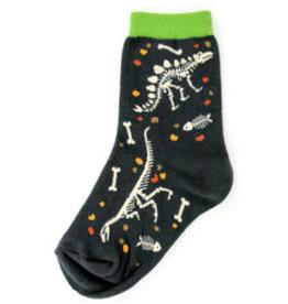 Foot Traffic Kids Fossil Socks