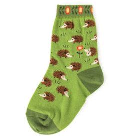 Foot Traffic Kids Hedgehog Socks